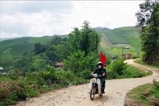 Dịch COVID-19: Biên phòng Sơn La tăng cường phòng, chống dịch trên tuyến biên giới