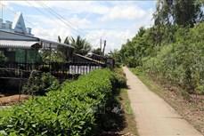 Huyện vùng sâu Vĩnh Thuận (Kiên Giang) huy động sức dân đầu tư kết cấu hạ tầng