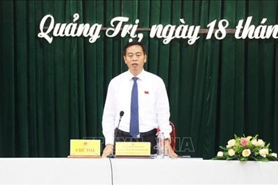 Ông Nguyễn Đăng Quang tái đắc cử Chủ tịch HĐND tỉnh Quảng Trị
