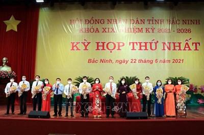 Bầu các chức danh chủ chốt HĐND và UBND tỉnh Bắc Ninh khóa XIX