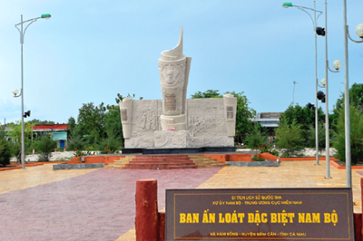 Cà Mau quy hoạch Khu di tích Bia Ấn loát đặc biệt Nam Bộ trở thành điểm tham quan du lịch