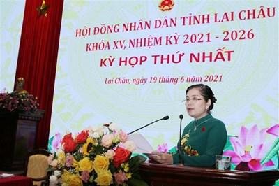 Bà Giàng Páo Mỷ tái đắc cử Chủ tịch Hội đồng nhân dân tỉnh Lai Châu