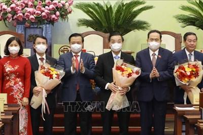 Ông Chu Ngọc Anh tiếp tục được bầu làm Chủ tịch UBND thành phố Hà Nội