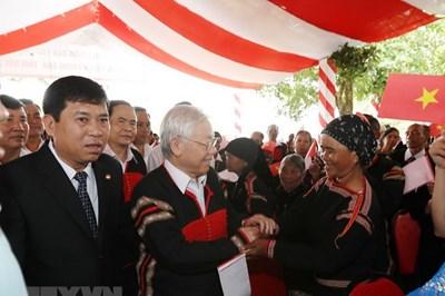 Niềm tin son sắt của đồng bào Đắk Lắk với Đảng