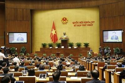 Toàn văn Bài phát biểu nhậm chức của Chủ tịch Quốc hội khóa XV Vương Đình Huệ