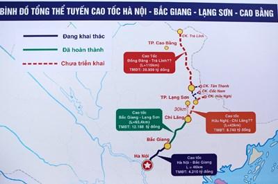 Phê duyệt chủ trương đầu tư cao tốc Đồng Đăng - Trà Lĩnh
