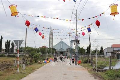 Huyện Ninh Hải đạt chuẩn nông thôn mới