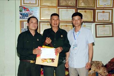 Cựu binh Quàng Văn Sơn nhiệt tình xây dựng nông thôn mới