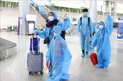 """Dịch COVID-19: Thành phố Hồ Chí Minh đón 297 du khách từ """"tâm dịch"""" Đà Nẵng trở về"""