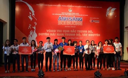 Hoi thi Olympic cac mon khoa hoc Mac – Lenin va Tu tuong Ho Chi Minh hinh anh 2