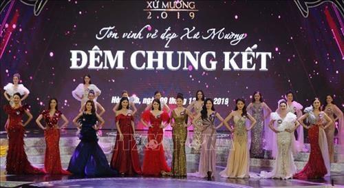 Hoa Binh: Trao giai Cuoc thi Nguoi dep xu Muong nam 2019 hinh anh 1