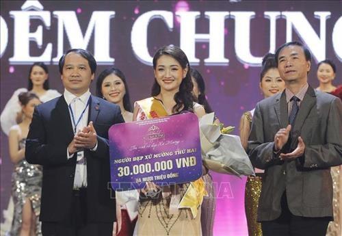 Hoa Binh: Trao giai Cuoc thi Nguoi dep xu Muong nam 2019 hinh anh 2