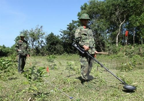越南参加ADMM+框架内的人道主义排雷及联合国维和实地演练活动 hinh anh 2