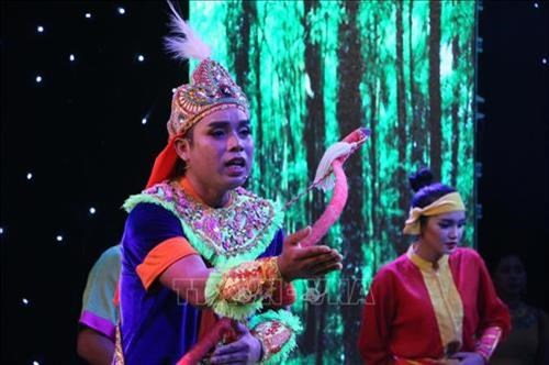 Bao ton, phat huy gia tri nghe thuat san khau du ke Khmer Nam Bo (Bai 1) hinh anh 1