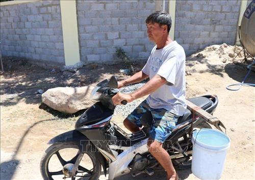 Ninh Thuan lap phuong an cho nuoc sach cap cho nguoi dan vung kho han hinh anh 2