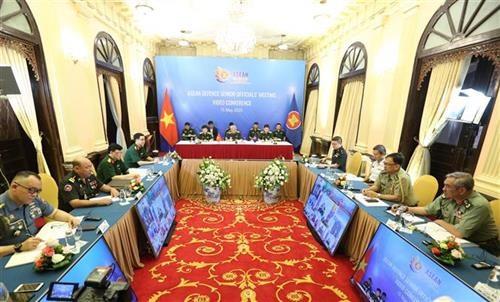 2020东盟轮值主席年:东盟国防高级官员视频会议召开 hinh anh 1