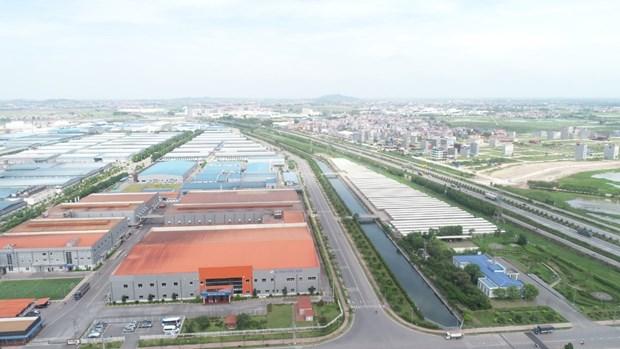 北江省集中吸引对工业区的投资 hinh anh 2