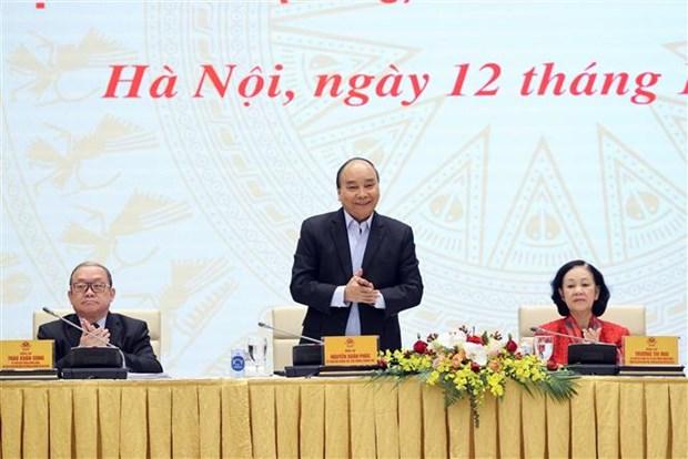 越南政府总理阮春福:打造一支把握科学技术和数字经济的新一代农民队伍 hinh anh 1