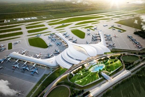 隆城国际机场今日正式动工兴建 hinh anh 1