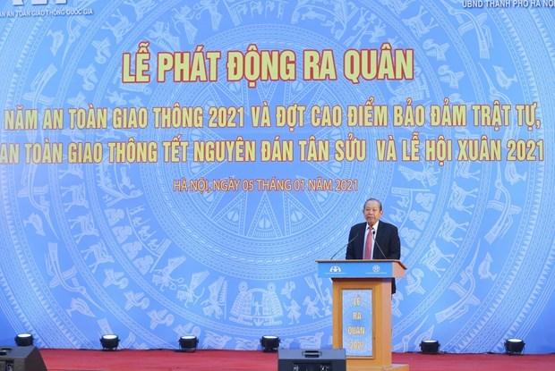 张和平副总理:在全力保障交通秩序安全畅通的同时做好新冠肺炎疫情防控工作 hinh anh 1