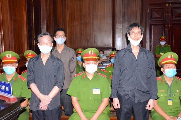 犯下传谣破坏国家罪名的分子被判处有期徒刑15年 hinh anh 1