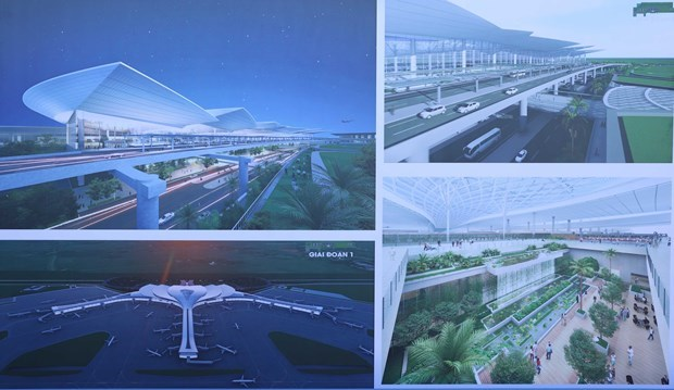 阮春福:隆城机场将为一个发展壮大的越南作出贡献 hinh anh 1