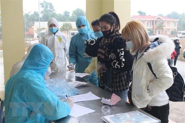 越南新增10例境外输入新冠肺炎确诊病例 hinh anh 1