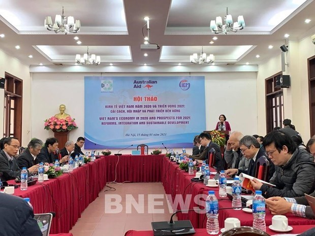 CIEM:2021年越南经济增长的两种情景 hinh anh 1