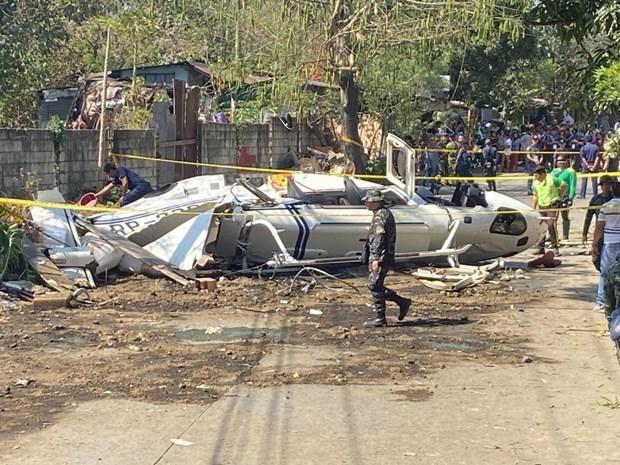 菲律宾一军用直升机坠毁 7人死亡 hinh anh 1