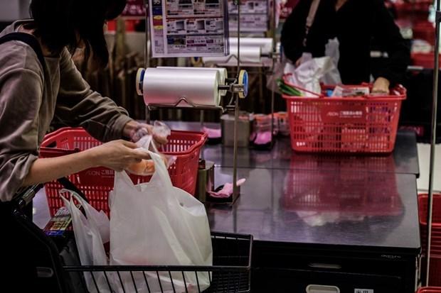 河内拟建超市联盟致力减少塑料袋的使用 hinh anh 3