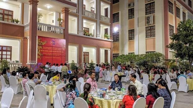 越裔柬埔寨人欢度新春佳节 hinh anh 2