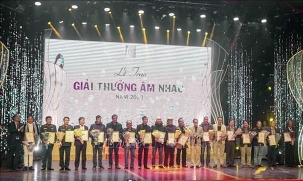 2020年越南音乐奖结果揭晓 hinh anh 1