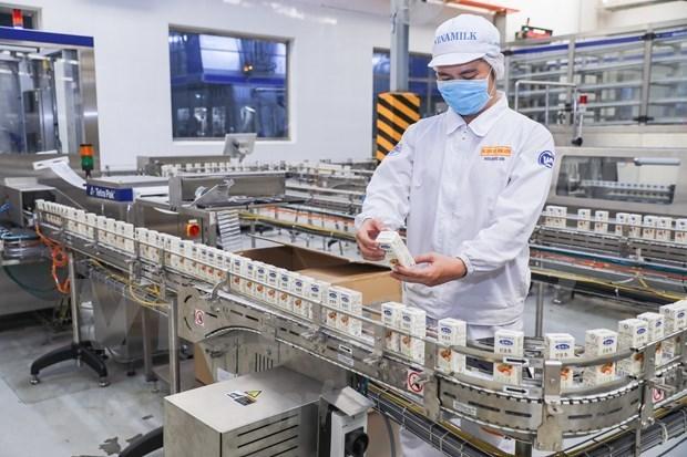 越南乳制品股份公司对中国出口一大批种子奶和炼乳产品 hinh anh 2
