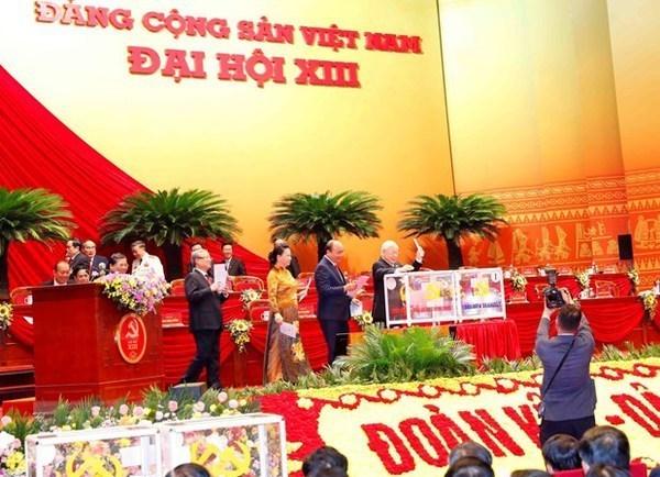 越共十三大第五个工作日新闻公报:大会将于2021年2月1日闭幕 hinh anh 1