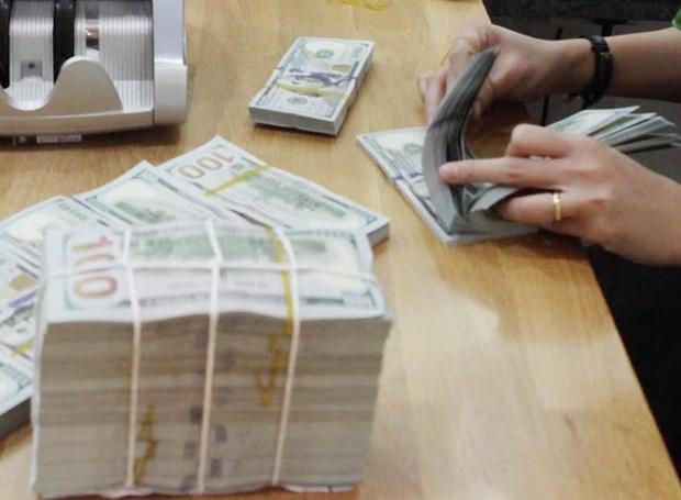 2月1日上午越盾对美元汇率中间价上调9越盾 hinh anh 1