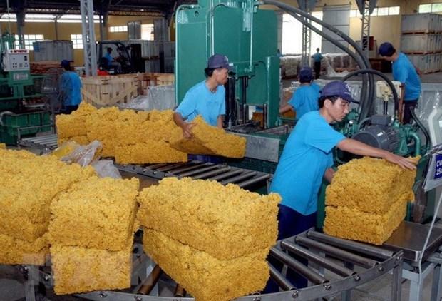 2020年越南橡胶工业集团完成利润计划的122.6% hinh anh 1