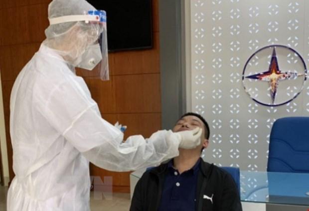 新冠肺炎疫情:海阳省神速追踪新冠肺炎确诊病例密切接触人员 hinh anh 1