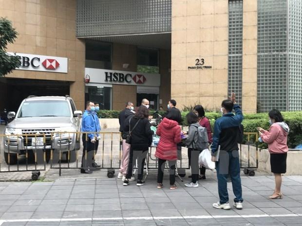 新冠肺炎疫情:河内市对14个疫区解除封锁 hinh anh 1