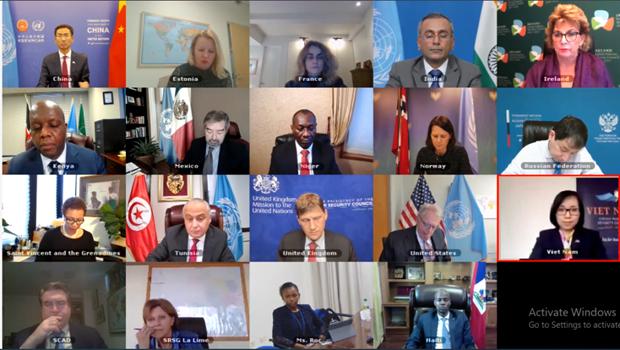 越南与联合国安理会:联合国安理会谴责海地针对平民的暴力事件 越南呼吁各方加强对话 hinh anh 1