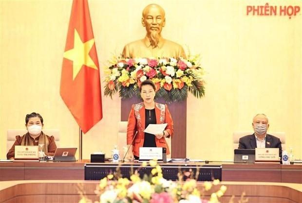 越南第十四届国会常务委员会第53次会议开幕 hinh anh 1