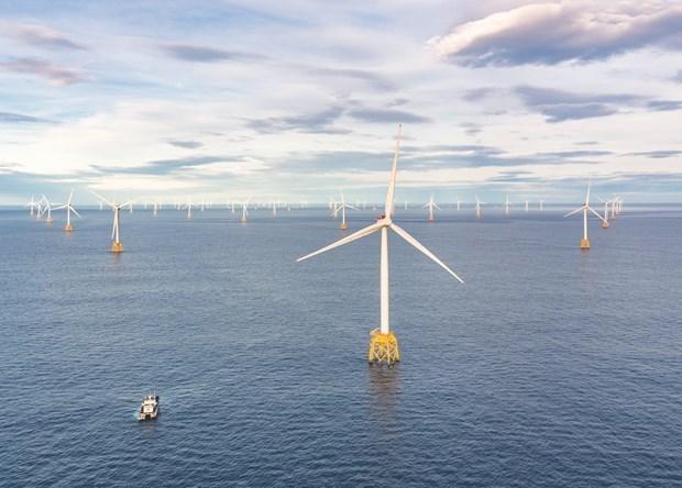 平顺省罗干海上风电项目为700万户家庭供电 hinh anh 1
