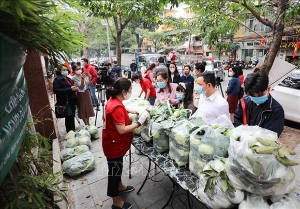 越南红十字协会启动疫区农产品爱心购活动 hinh anh 2