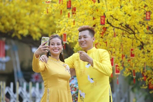 胡志明市迎春节活动精彩纷呈 hinh anh 1
