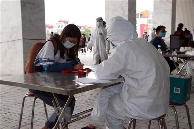 3月7日上午越南新增2例输入性新冠肺炎确诊病例 hinh anh 1