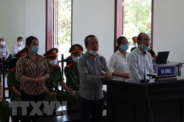 """平福省对犯下""""煽动颠覆人民政权罪""""的被告人做出判决 hinh anh 1"""