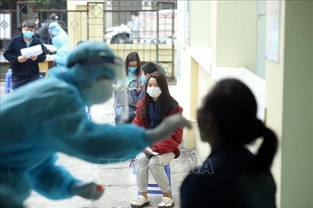 新冠肺炎疫情:12日上午越南新增确诊病例2例 均在海阳省发现 hinh anh 1