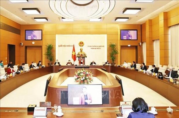 越南国会第54次会议召开在即 对提请国会批准的人事安排提出意见 hinh anh 1