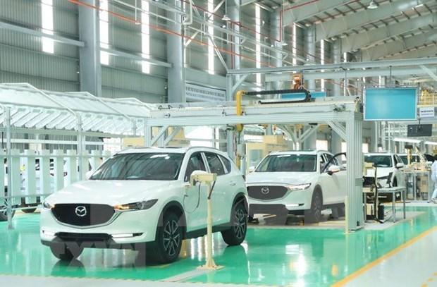 2021年2月越南汽车销量环比大幅下降 hinh anh 1