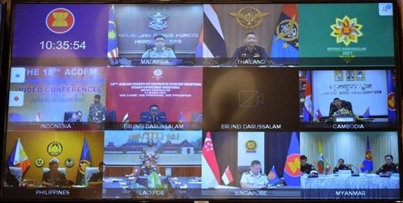 ACDFM-18: 柬埔寨强调加强区域合作应对各种危机的必要性 hinh anh 1