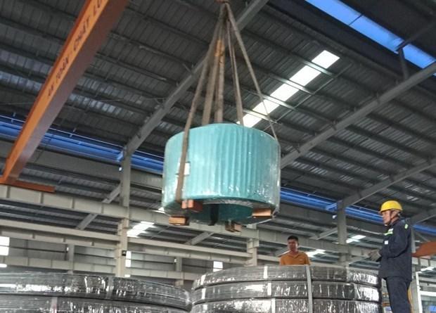 越南和发集团对美国出口预应力钢绞线 hinh anh 1